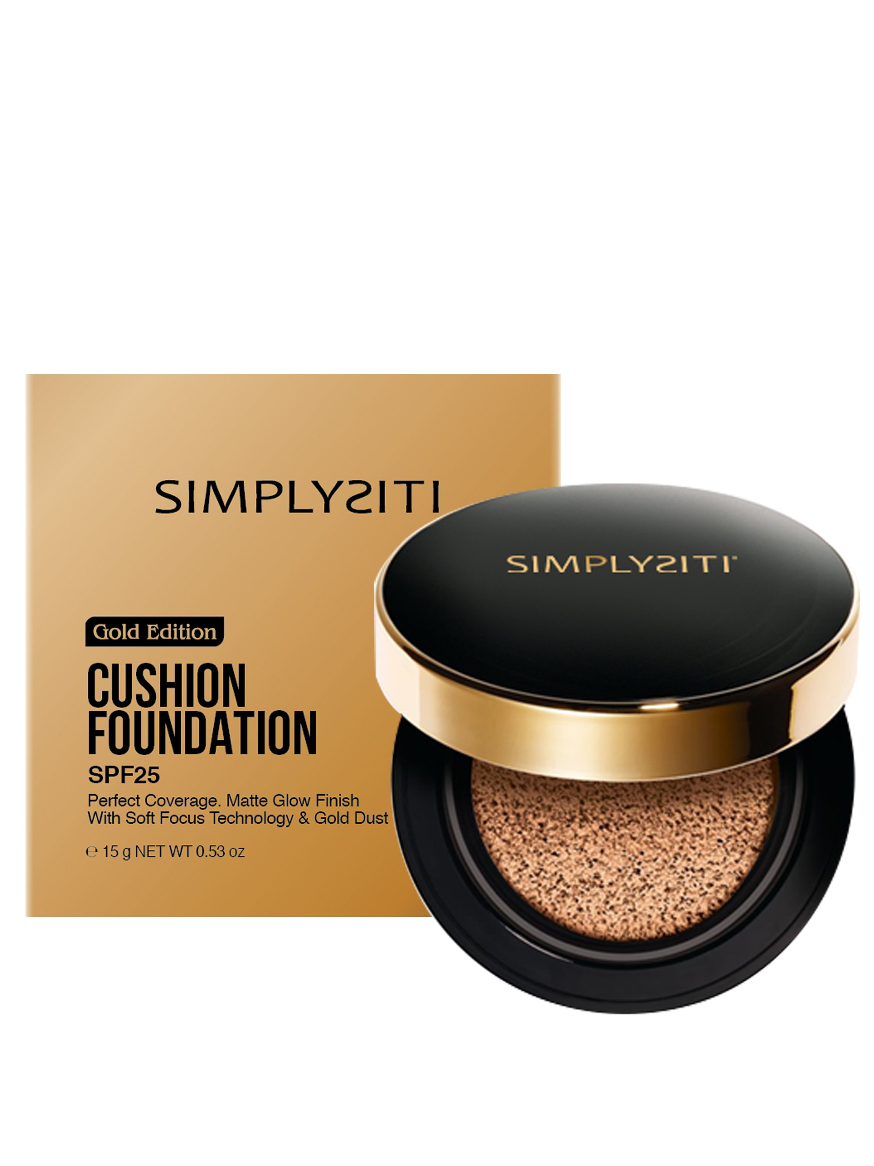 Gold Edition Cushion Foundation Natural Beige Gcf02